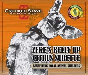 Crooked Stave Zeke's Belly Up Citrus Surette