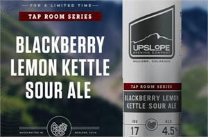 Upslope Brewing Co. - Blackberry Lemon Kettle Sour 19.2oz Can