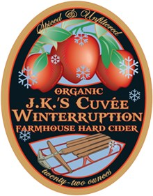 J.K.'s Cuvee Winterruption Farmhouse Hard Cider