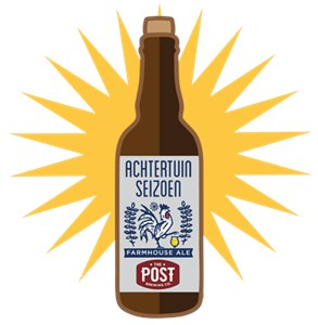 The Post Brewing Co. - Achtertuin Seizoen Farmhouse Ale 750ml