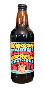 Bull & Bush Brewery - Genessee Mountain Rainbow Espresso Oatmeal Stout 16.9oz